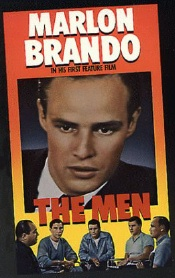 Brando in The Men movie Poster