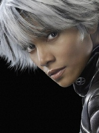 Halle Berry as Storm in X-Men movie