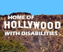 Hollywood with disAbilities Sign
