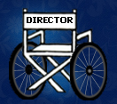 director's wheelchair